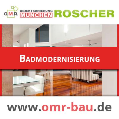 Innenausbau München - Badmodernisierung