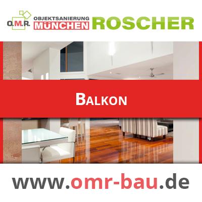 Innenausbau München - Balkon