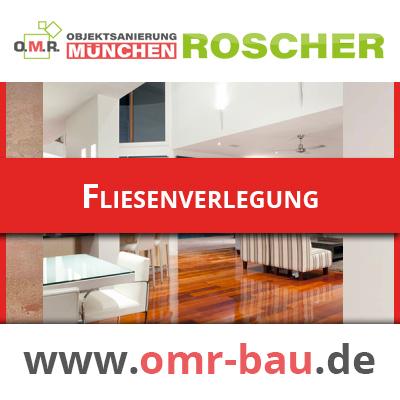 Innenausbau München - Fliesenverlegung