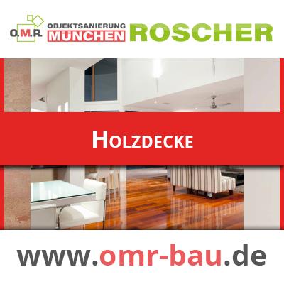Innenausbau München - Holzdecke
