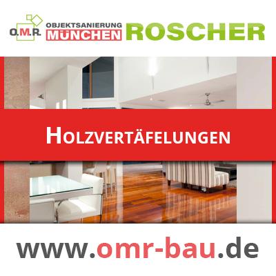 Innenausbau München - Holzvertäfelungen