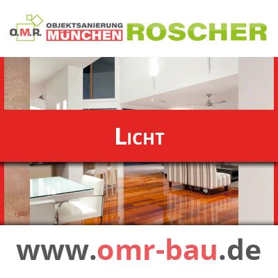 Innenausbau München - Licht