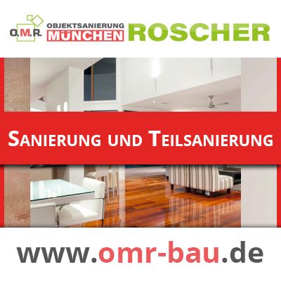Innenausbau München - Sanierung und Teilsanierung