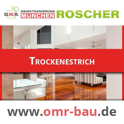 Innenausbau München -Trockenestrich